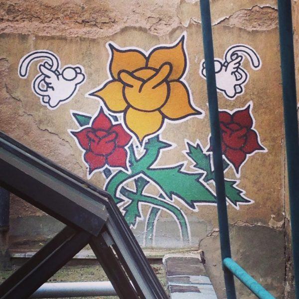 M. Chat (Thoma Vuille) Graffiti, Sarajevo