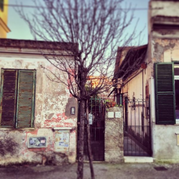 Quadraro neighborhood Rome