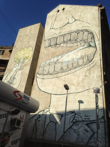 street art Blu, Belgrade