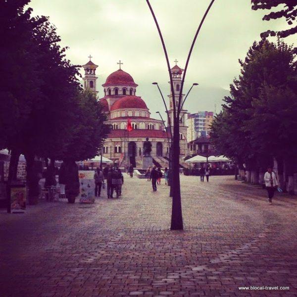boulevard Korça, Albania, balkans