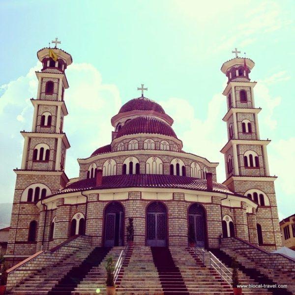 cathedral Korça, Albania, balkans