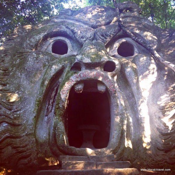 Bomarzo monsters park viterbo italy