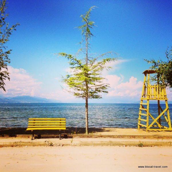 tushemisht lake ohrid albania balkans