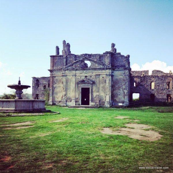 Monterano ghost town, Lazio, Italy