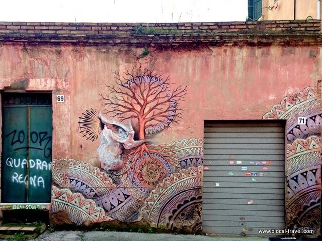 a street art walking tour at quadraro my favorite street art district in rome. Black Bedroom Furniture Sets. Home Design Ideas