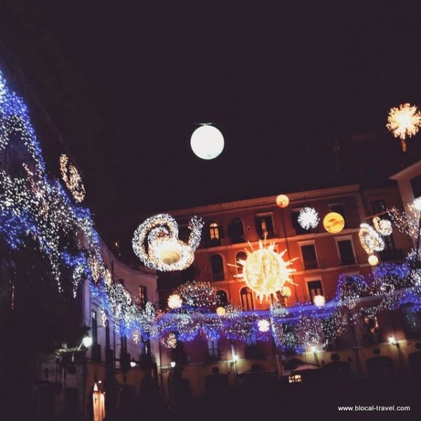 luci d'artista lighting art christmas salerno italy