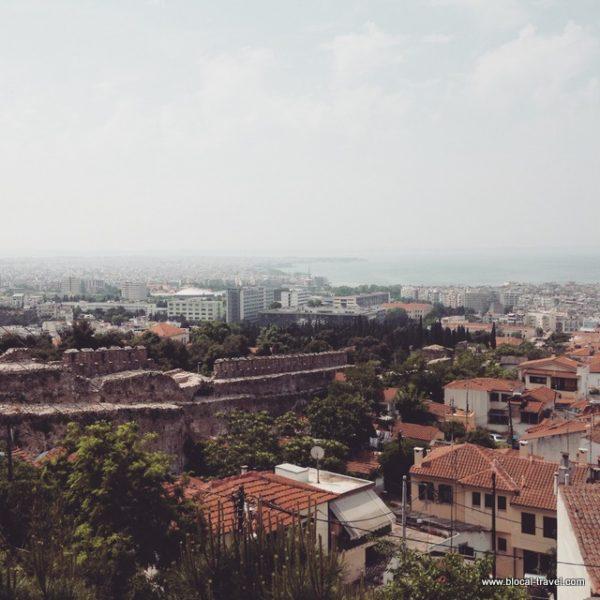 Ano Poli, old town, Thessaloniki