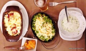 Pri Yafata restaurant, food, Sofia