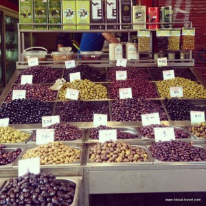 food market in Thessaloniki