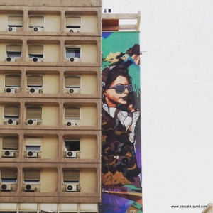 street art on Monastiriou st Thessaloniki