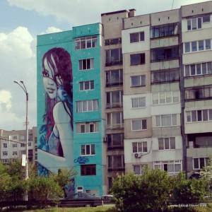 street art by Nazimo, Sofia