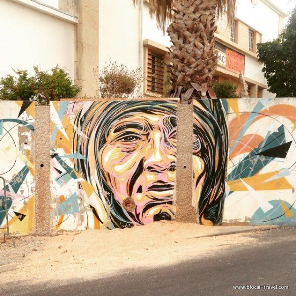 C215 LAC street art Lagos, Algarve, Portugal