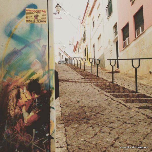 C215 street art Lagos, Algarve, Portugal 4