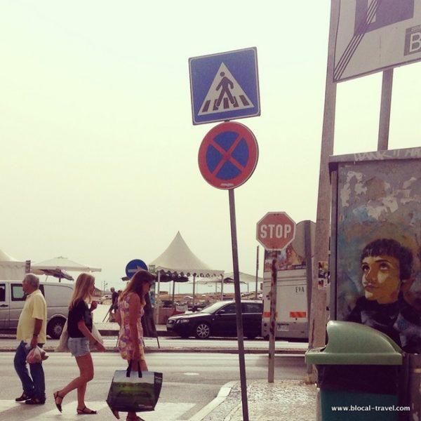 C215 street art Lagos, Algarve, Portugal