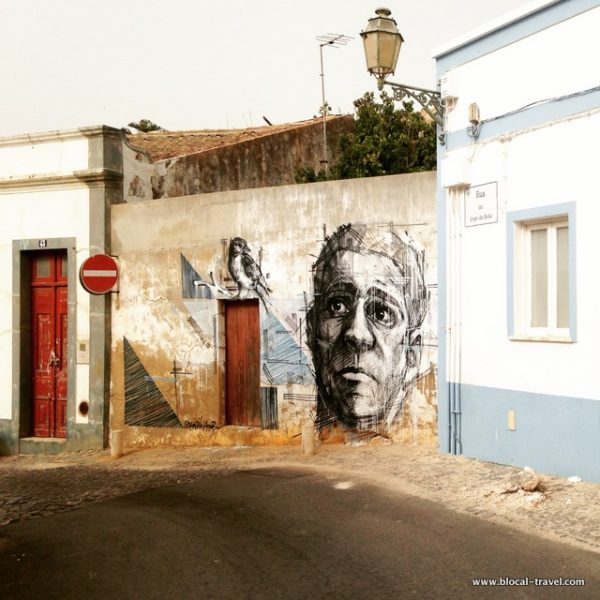 draw street art portugal lagos