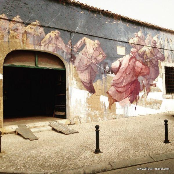 sepe street art Lagos, Algarve, Portugal