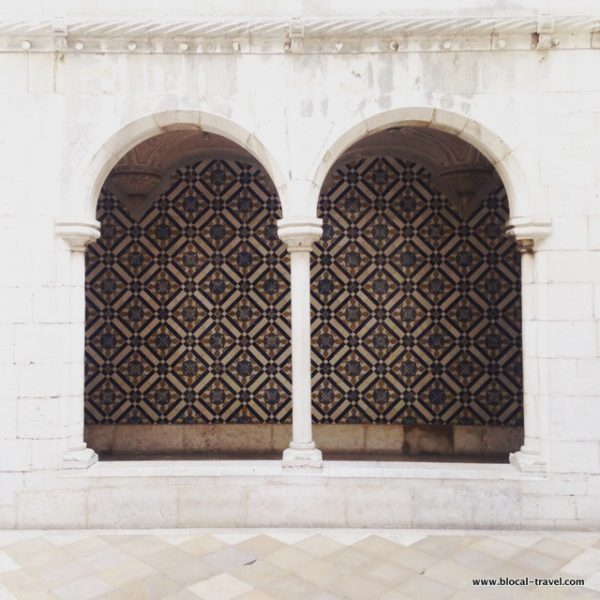azulejos museum, Lisbon, Portugal