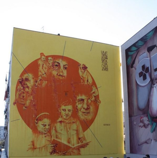 street art in Ponticelli