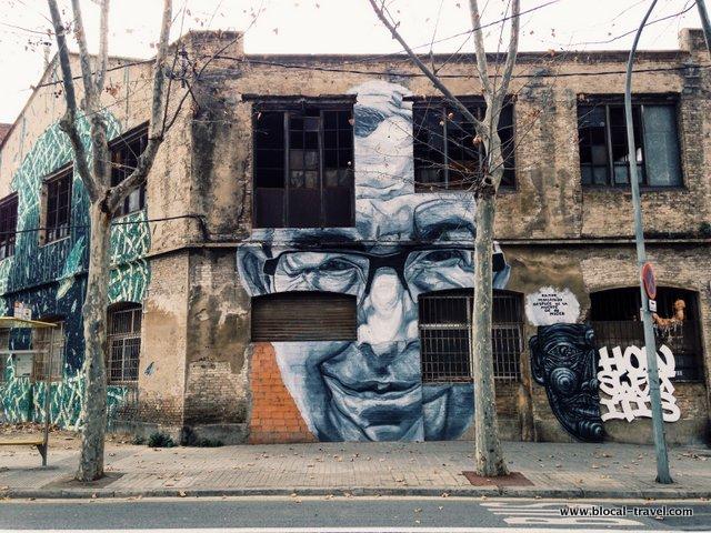 barcelona street art poblenou
