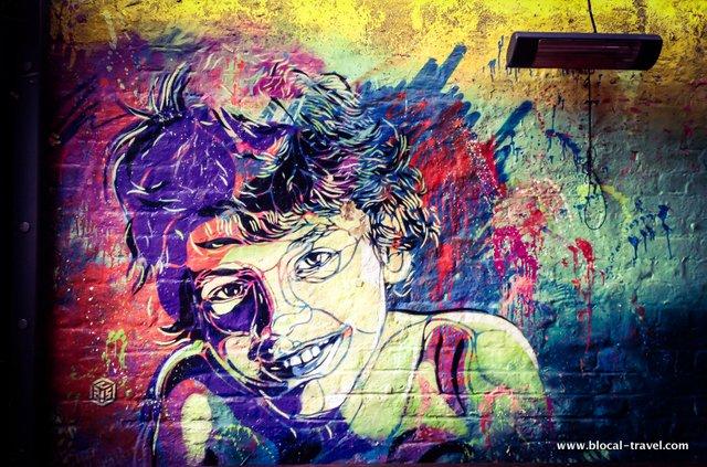 C215 street art cargo weekend in London