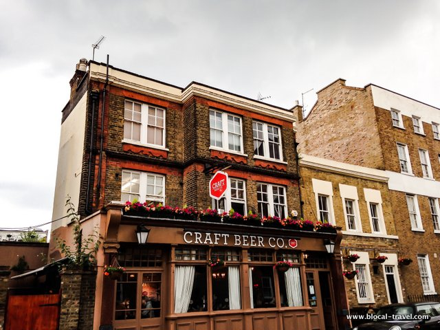 craft beer co london pub
