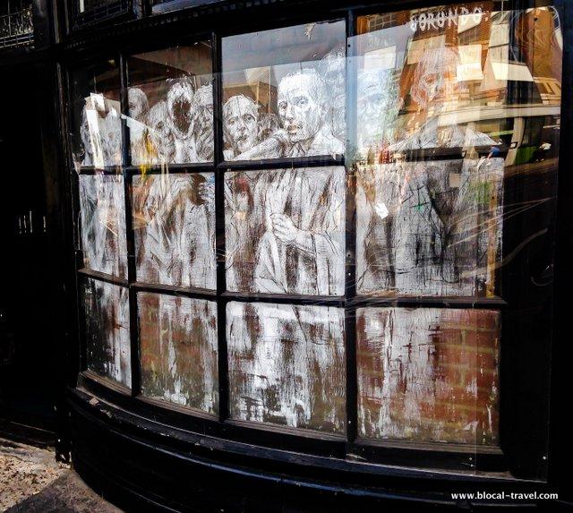 Borondo street art shoreditch weekend in London