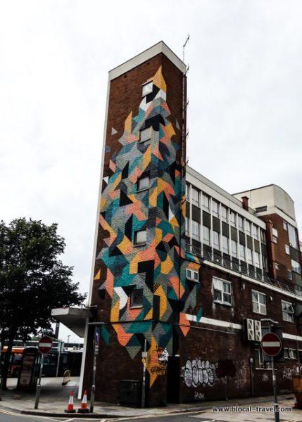 Kera street art cardiff wales