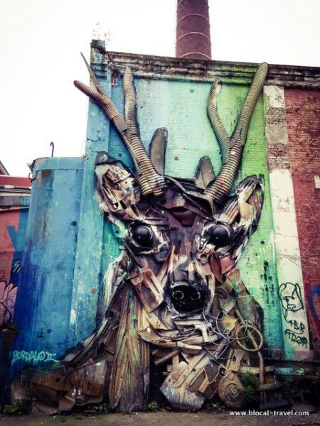 Bordalo II stavanger street art guide