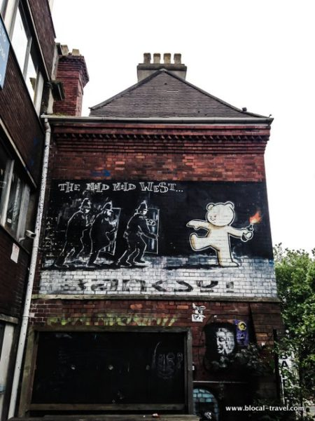 Where to find banksy murals in bristol for Banksy mural sold