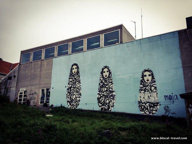 hush stavanger street art guide