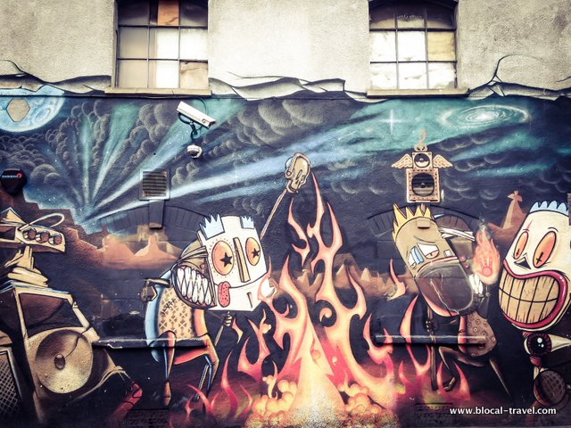Bristol street art guide