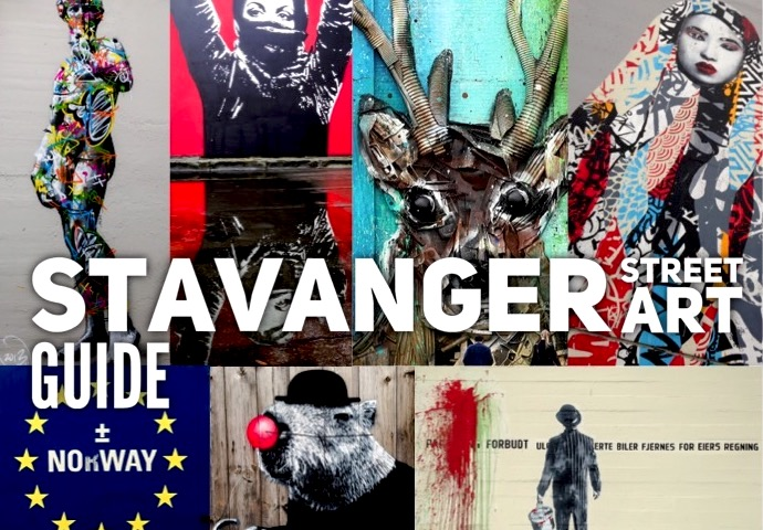 Stavager street art guide
