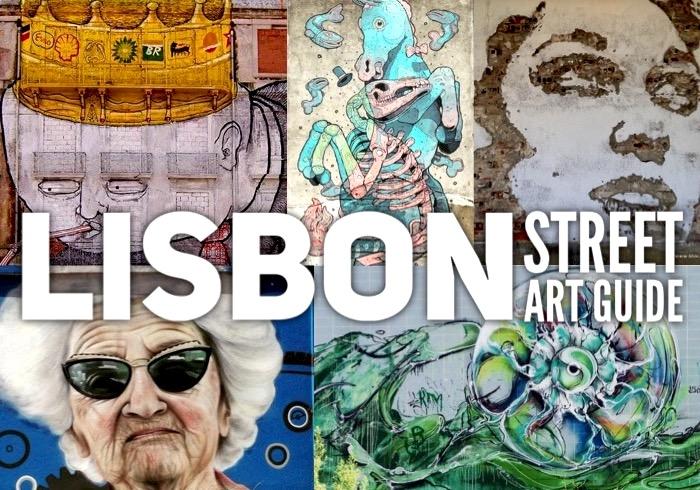 Lisbon street art guide