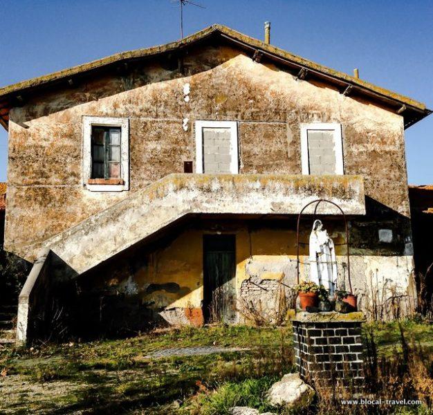 santa maria di galeria abandoned places in rome