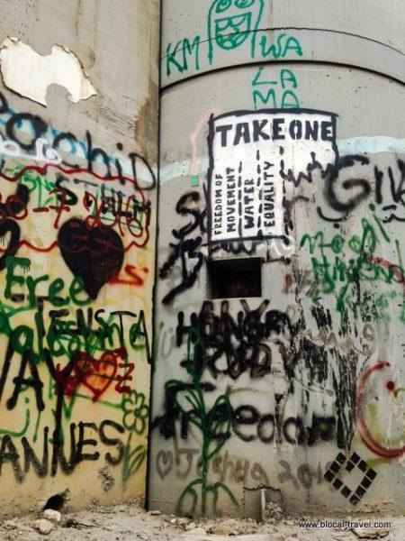 street art bethlehem wall palestine