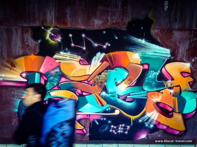 graffiti tel aviv central bus station 7th floor