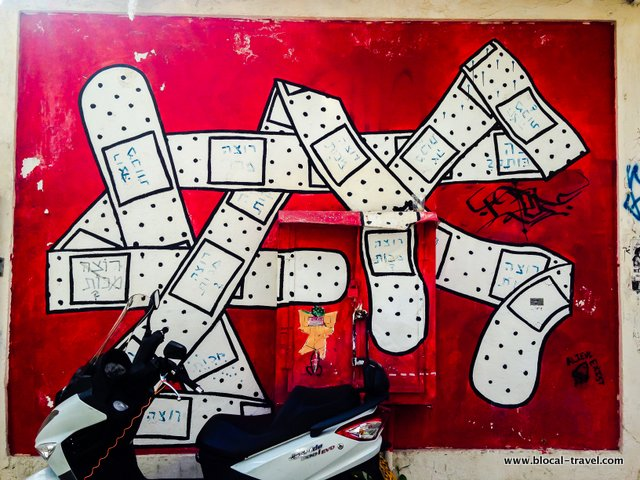 dede tel aviv street art guide