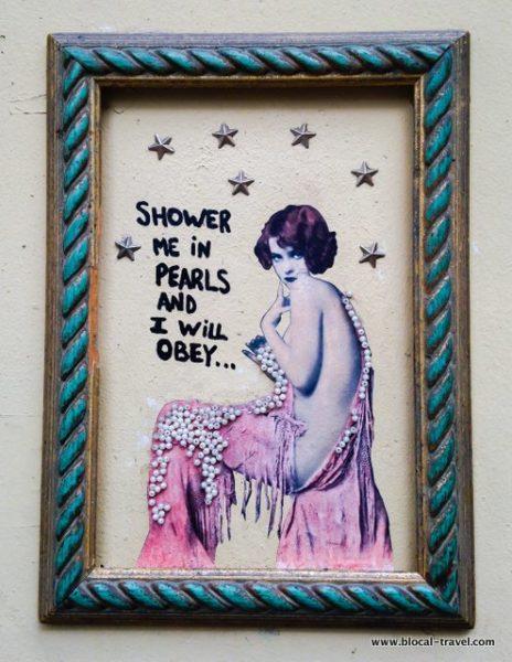 murielle street art tel aviv