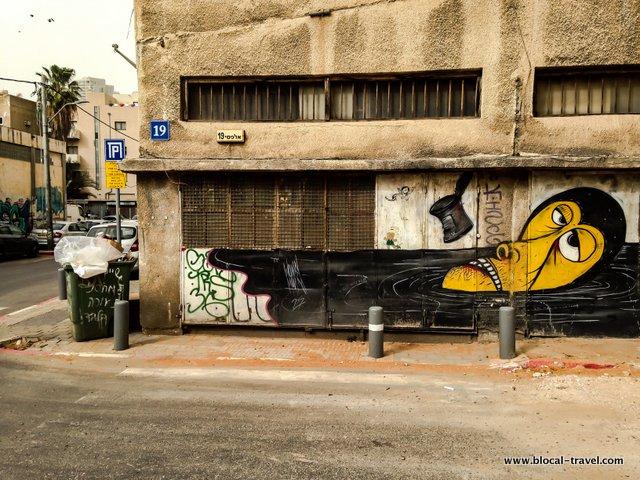 wonky monkey tel aviv street art guide