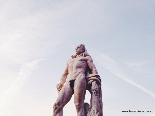 Stadio dei Marmi Northern Rome