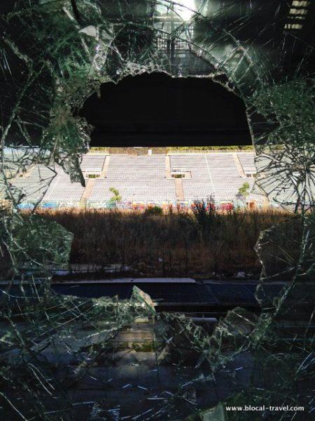 Abandoned Stadio Flaminio urbex Rome