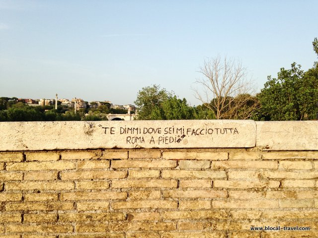 Ponte Milvio Northern Rome Urban Walk