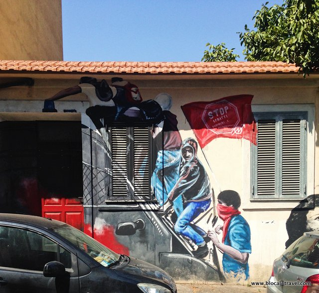 Aladin Pigneto Political Street Art in Rome