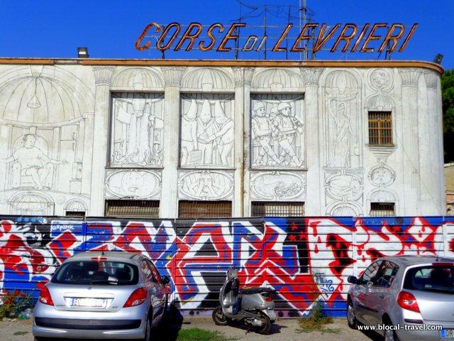 BLU political street art in Rome Acrobax