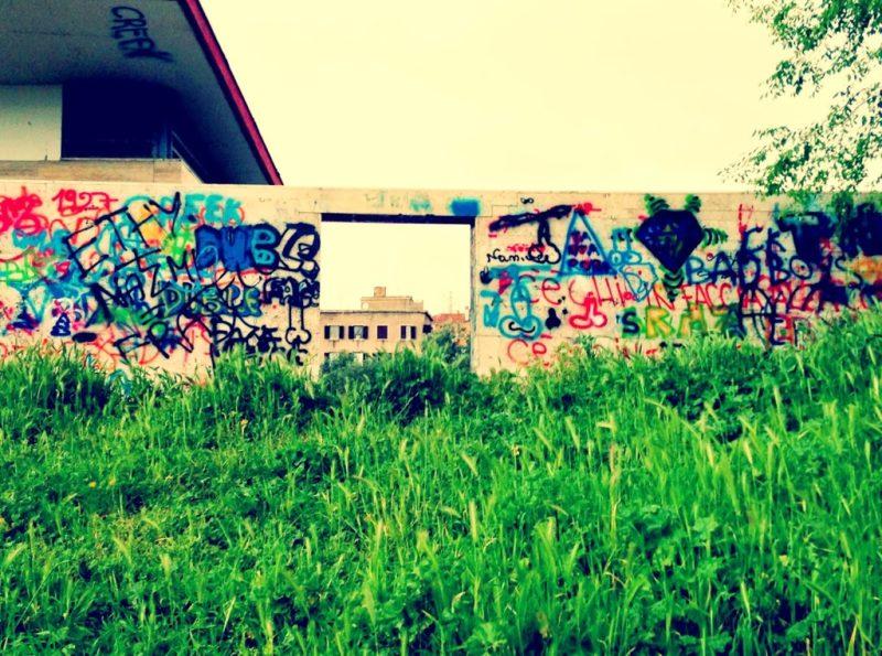 tor pignattara, rome, graffiti, street art