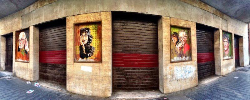 diavù street art rome ex-cinema impero