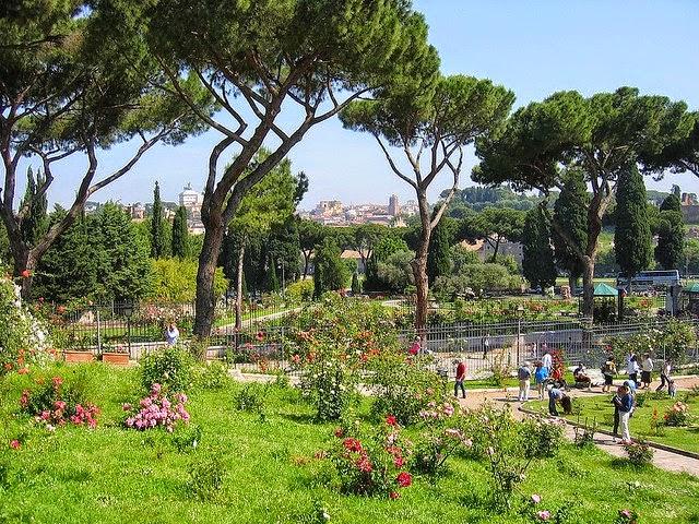 municipal rose garden rome