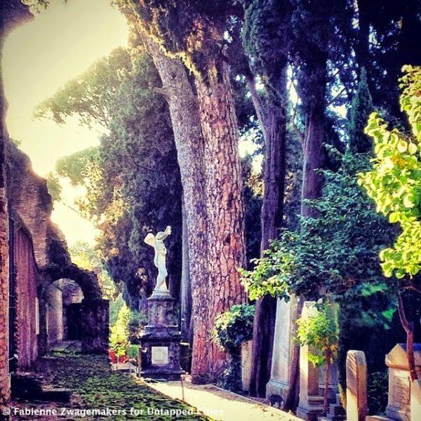 protestant cemetery testaccio rome