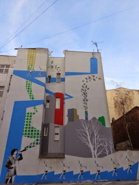 Street art in Stari Grad, Belgrade