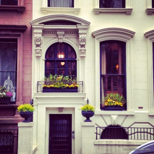 Brooklyn Heights brownstones new york